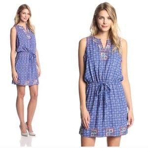 IRVING & FINE lucky brand boho tie waist dress XL